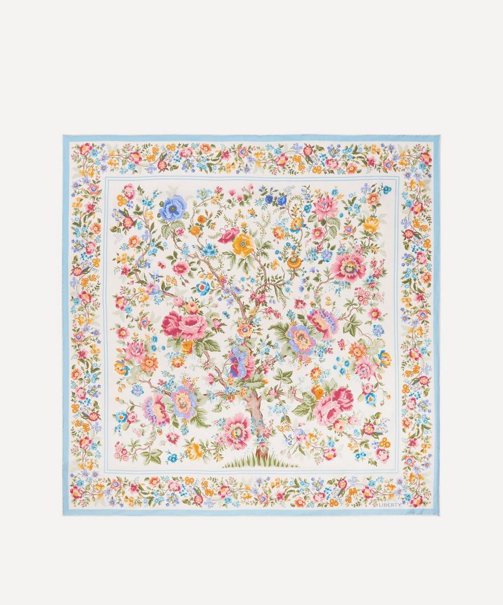 Liberty - Garden of Life 90 x 90cm Silk Twill Scarf