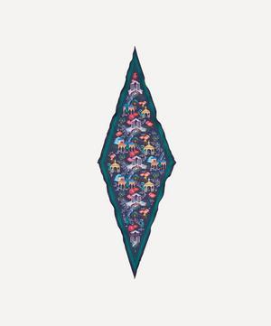 Kingdom 106 x 36cm Silk Twill Lozenge Scarf
