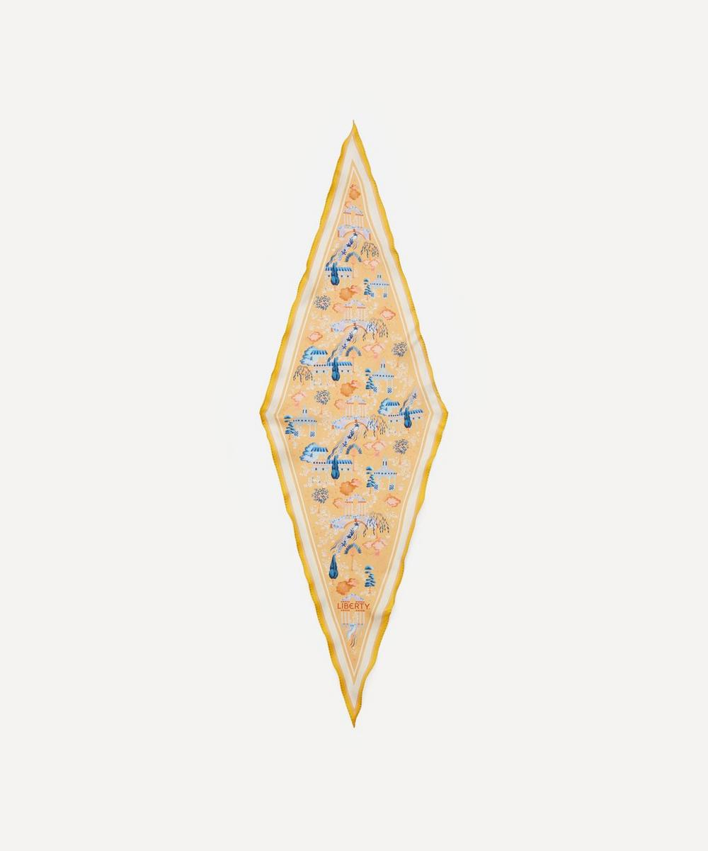 Liberty - Kingdom 106 x 36cm Silk Twill Lozenge Scarf