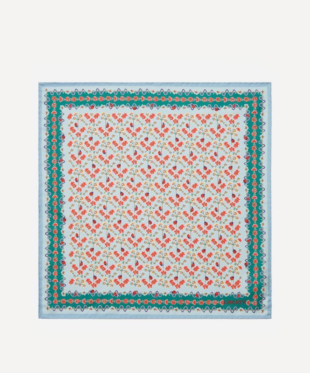 Liberty - Spring Garden 45 x 45cm Silk Twill Scarf
