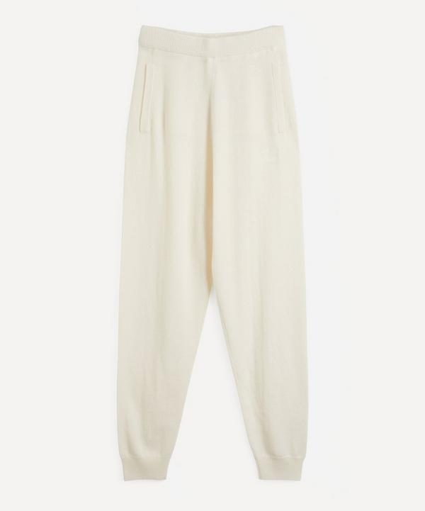 MaxMara - Wool and Cashmere Yarn Jogger Trousers