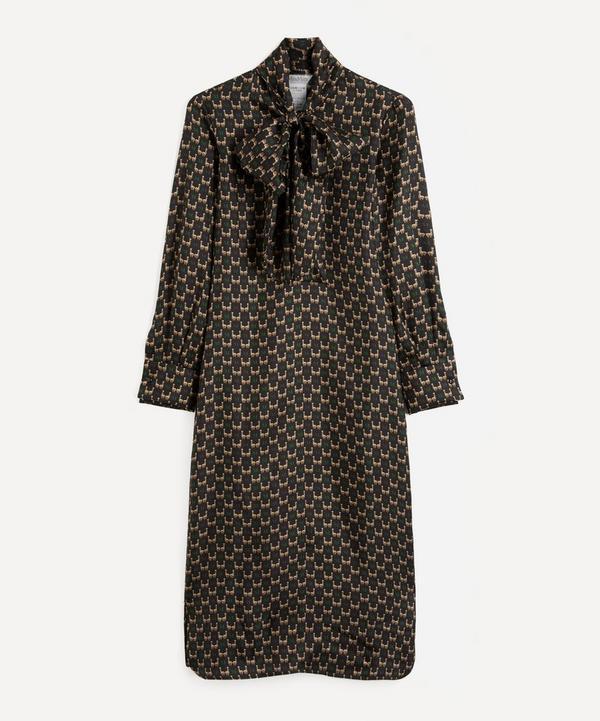 MaxMara - Printed Silk Twill Dress