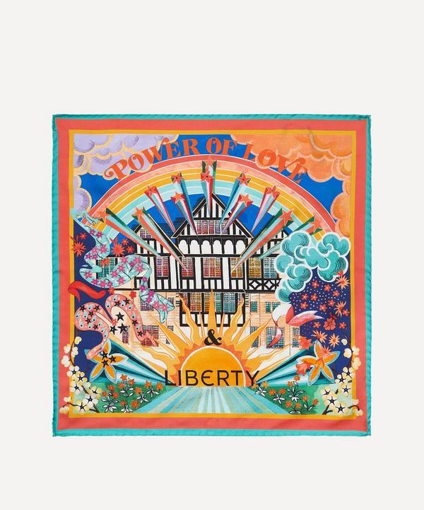 Liberty - The Power of Love & Liberty 45 x 45cm Silk Twill Scarf