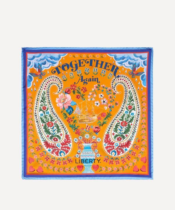 Liberty - Together Again 45 x 45cm Silk Twill Scarf