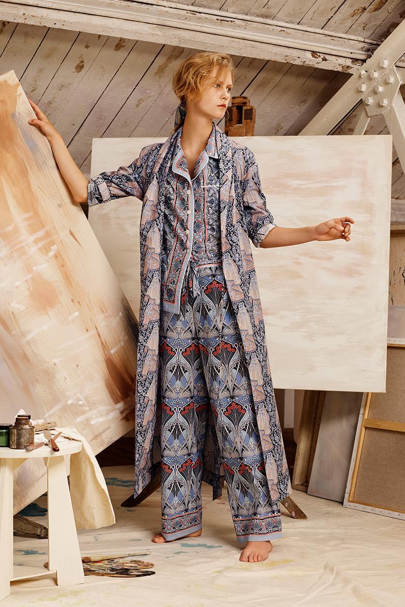 Ianthe Tana Lawn Cotton Pyjama Set