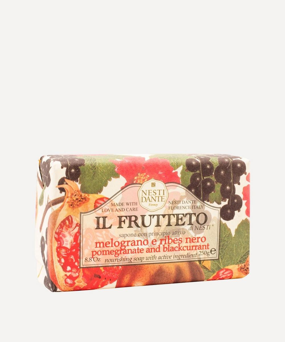 Il Frutetto Pomegranate and Blackcurrant Soap 250g