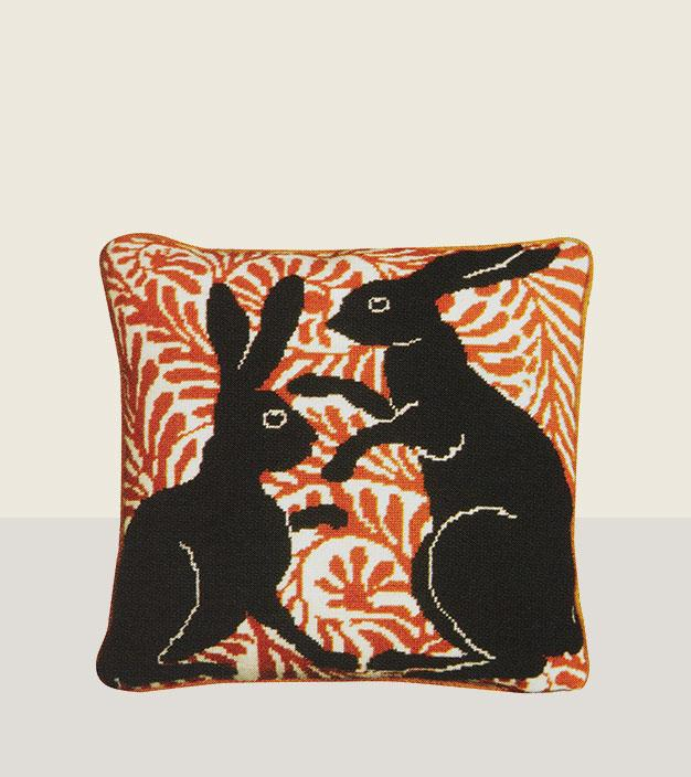 Fine Cell Work - Bunny Cushion