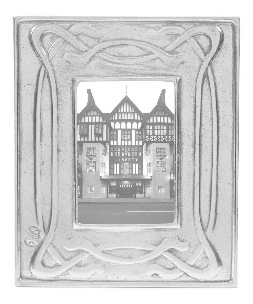 Small Decorative Pewter Photo Frame Liberty London