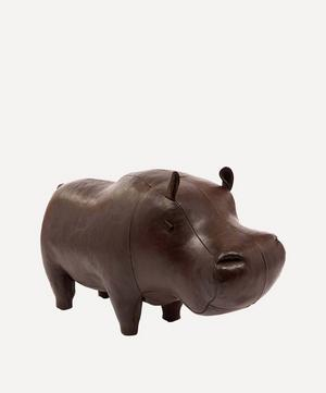 Medium Leather Hippopotamus