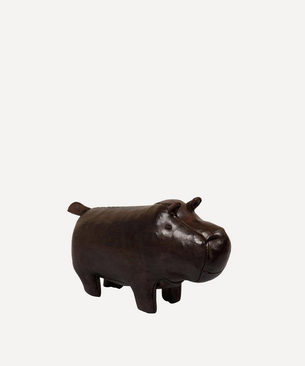 Omersa - Miniature Leather Hippopotamus
