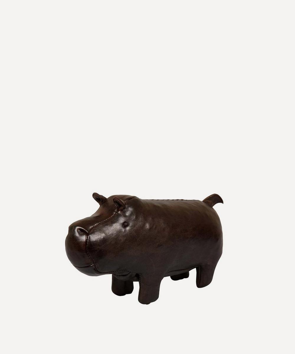 Miniature Leather Hippopotamus