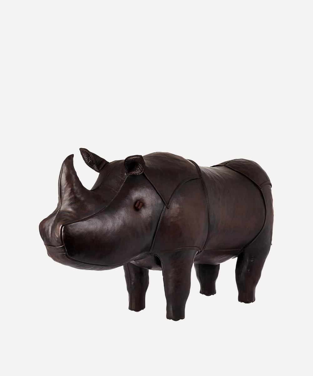 Medium Leather Rhinoceros