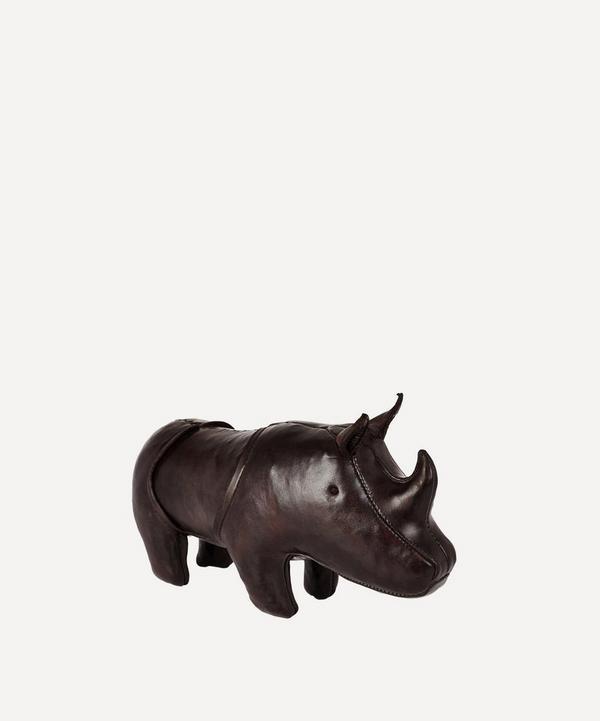 Omersa - Miniature Leather Rhinoceros