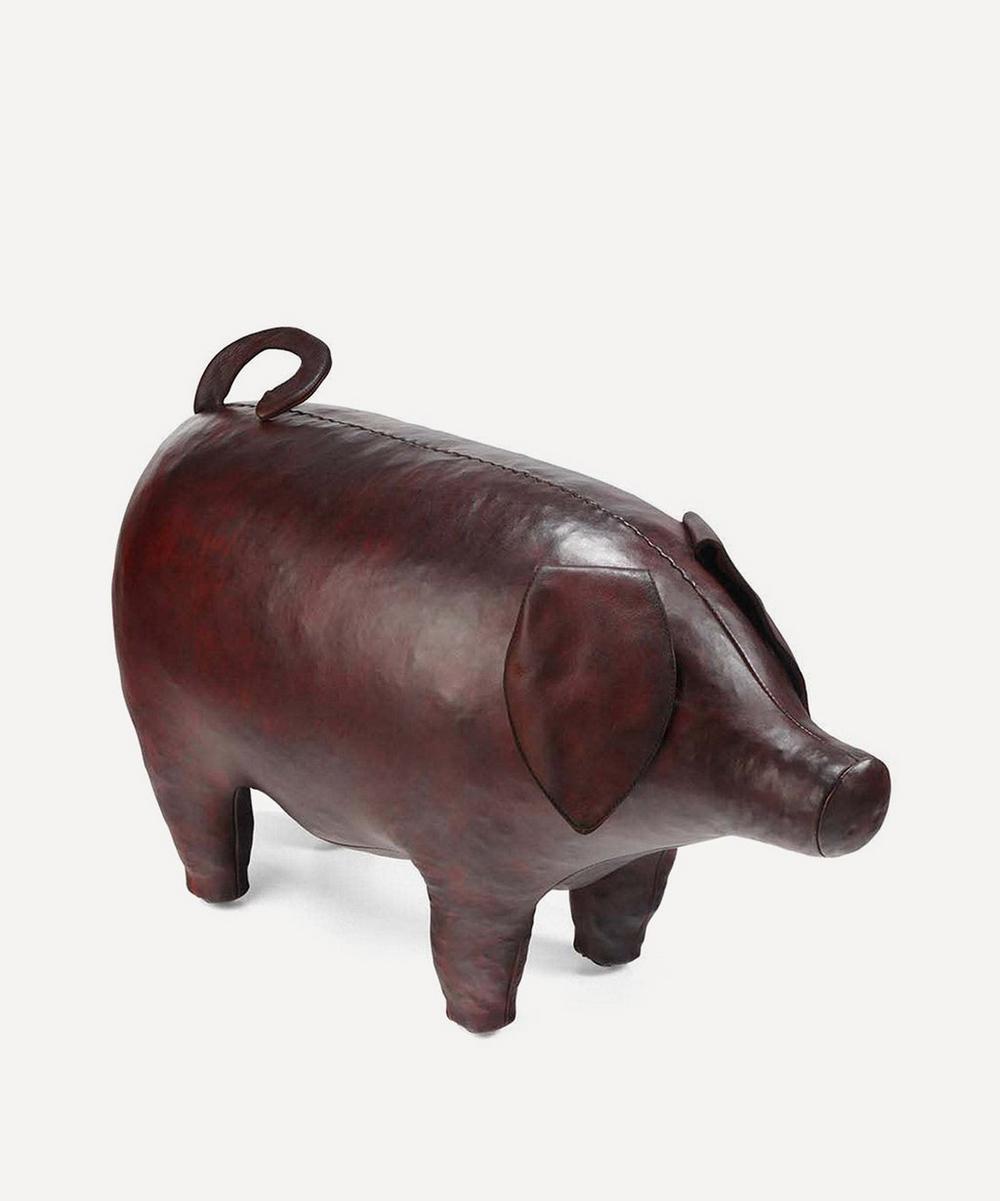 Medium Leather Pig
