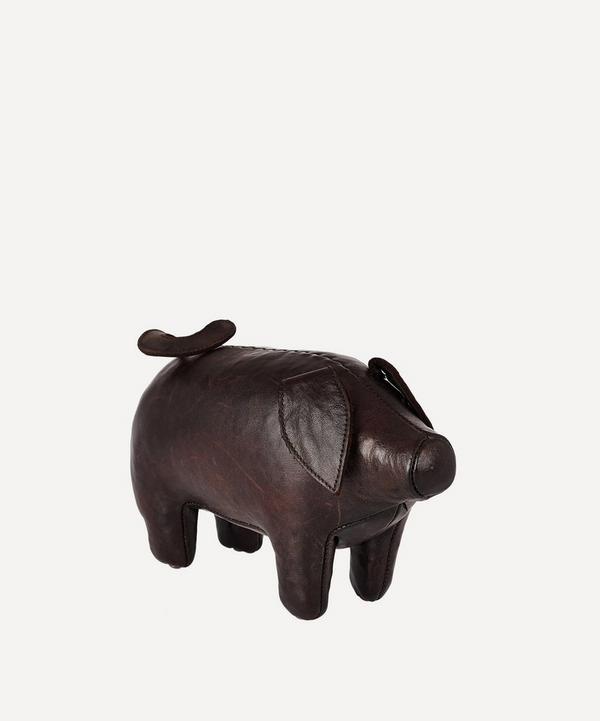 Omersa - Miniature Leather Pig