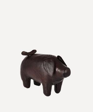 Miniature Leather Pig
