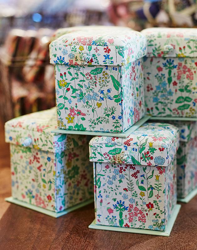 Liberty London Compact Sewing Box