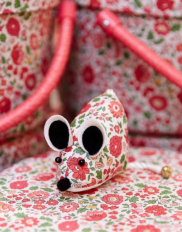 Liberty London Mouse Pin Cushion