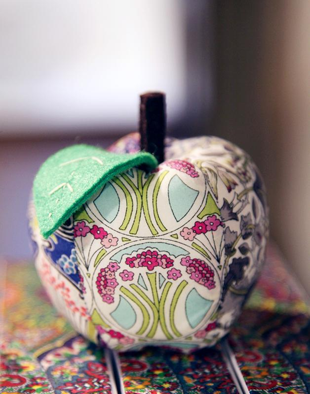 Liberty London Apple Pin Cushion