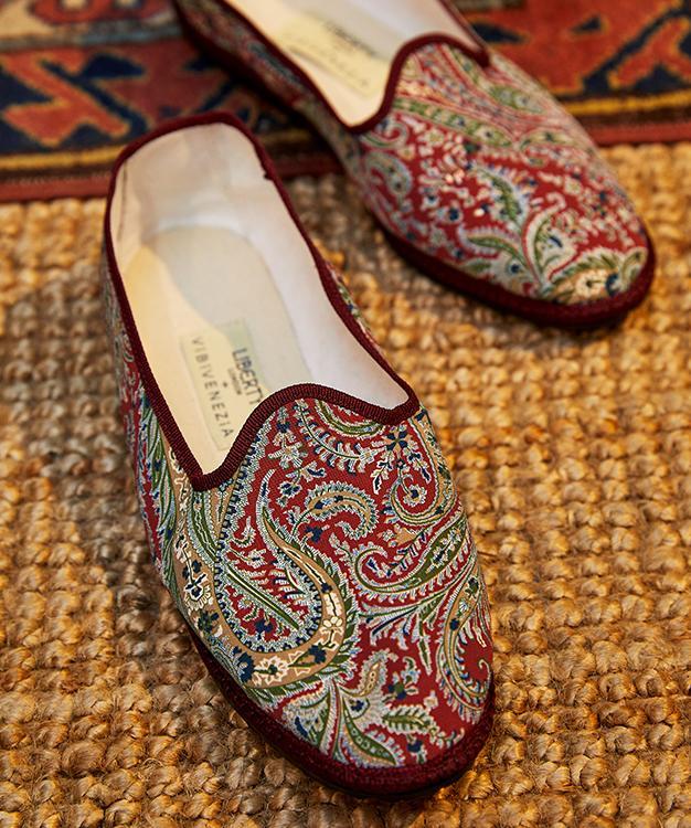 liberty vibi venezia paisley slippers