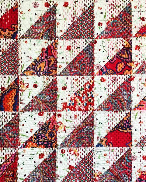 Liberty Fabrics: The Kantha Stitch Along
