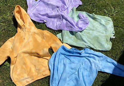tie-dye menswear history