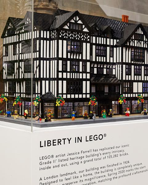 Liberty in Lego
