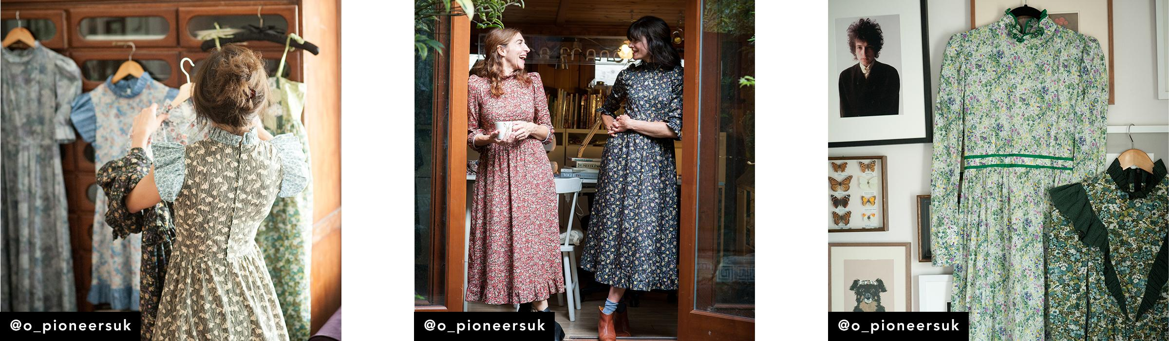 Our #LibertyFabrics Makers: O Pioneers