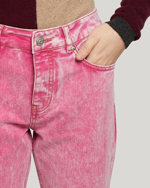 Ganni Washed Denim Pants