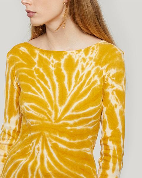 Paloma Wool Flor Tie-Dye Cotton Top