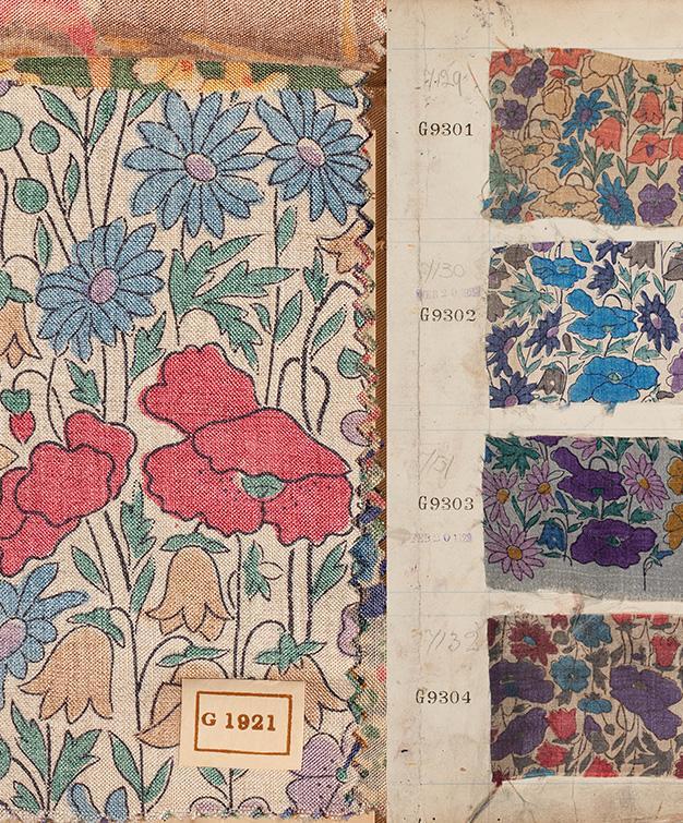 archive book florals
