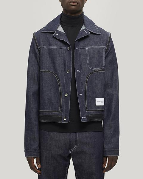 Daniel W. Fletcher Contrast Stitch Denim Jacket