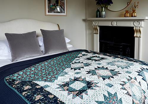 The Liberty Sewing Club: The Winterbourne Quilt Project