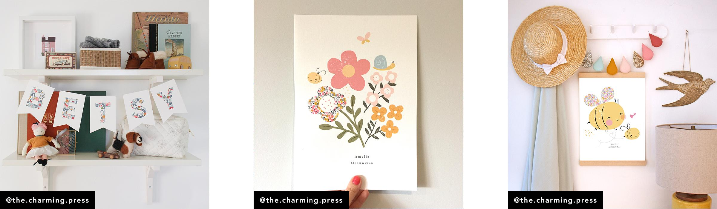 Liberty Fabric Makers: The Charming Press