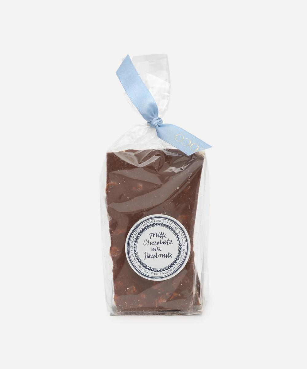 Rococo - Broken Milk Chocolate with Hazelnuts 150g