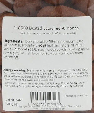 Dust Scorched Almonds 200g