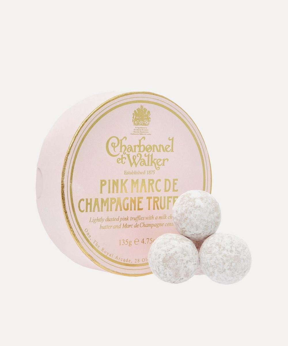 Pink Marc de Champagne Truffles 135g