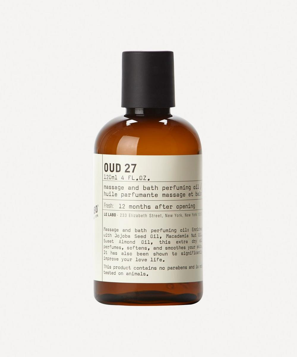 Oud 27 Bath and Body Oil 120ml