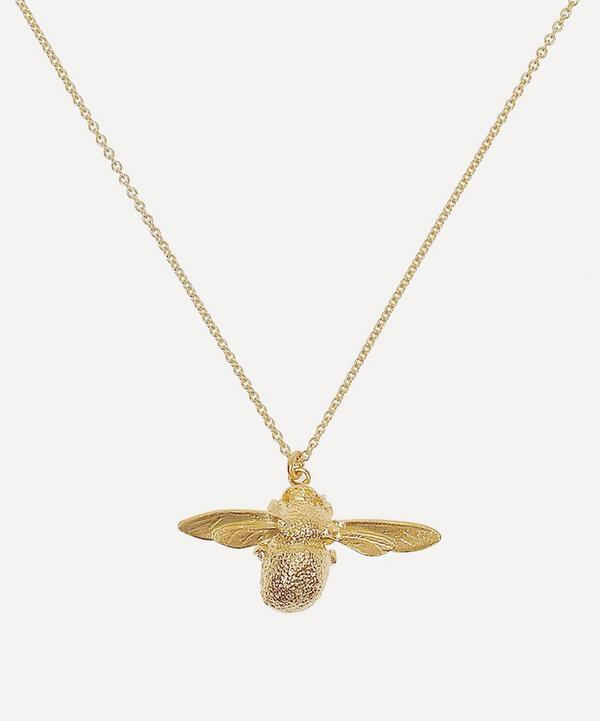Alex Monroe - Gold-Plated Bumblebee Necklace