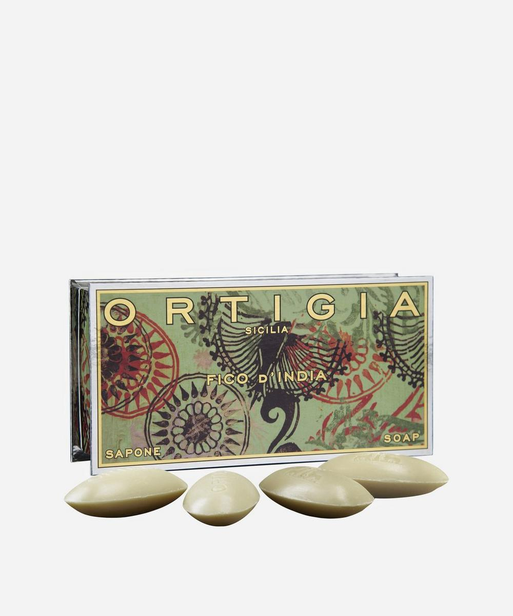 Small Fico d'India Olive Oil Soap Set
