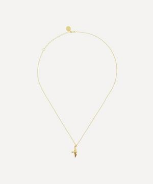 Gold-Plated Flying Swallow Necklace