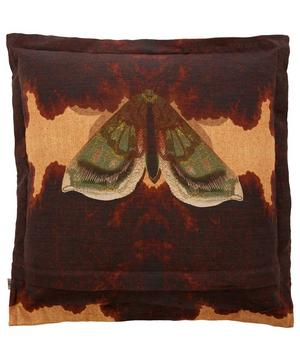 Moth Blotch Linen Cushion