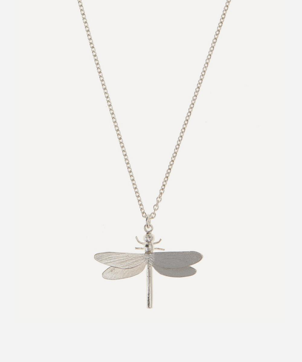 Alex Monroe - Silver Dragonfly Pendant Necklace
