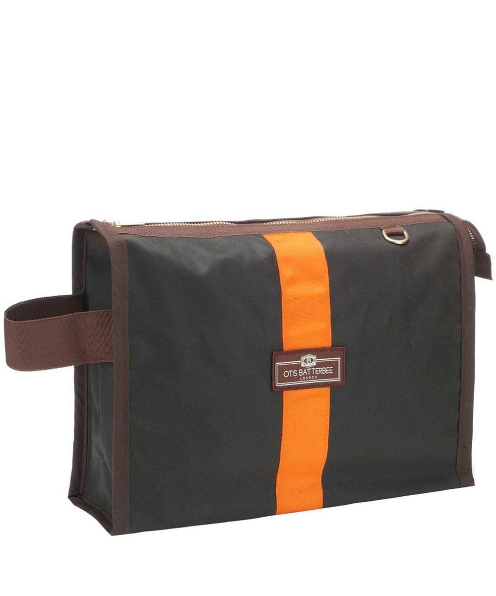 Waxed Grand Tour Wash Bag