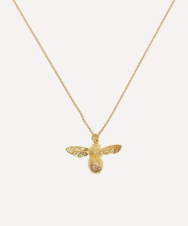 Alex Monroe - Gold-Plated Baby Bee Necklace