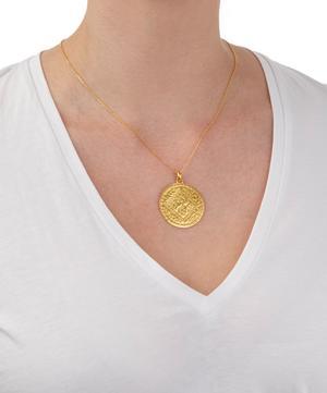 Gold Vermeil Marie Pendant Charm
