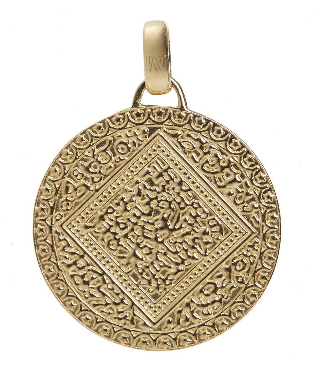 Gold Vermeil Mini Marie Pendant Charm