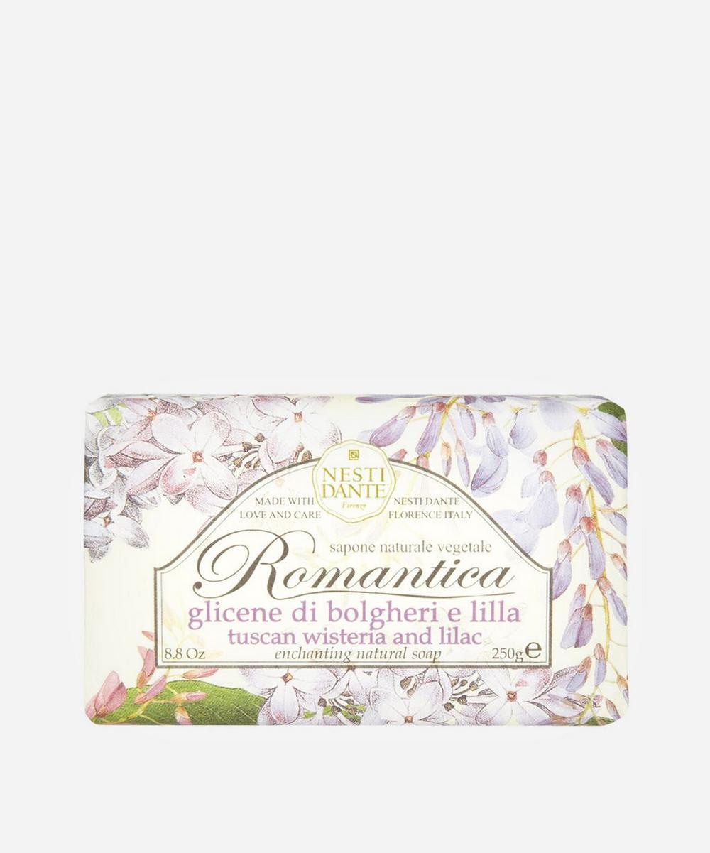 Romantica Tuscan Wisteria and Lilac Soap 250g