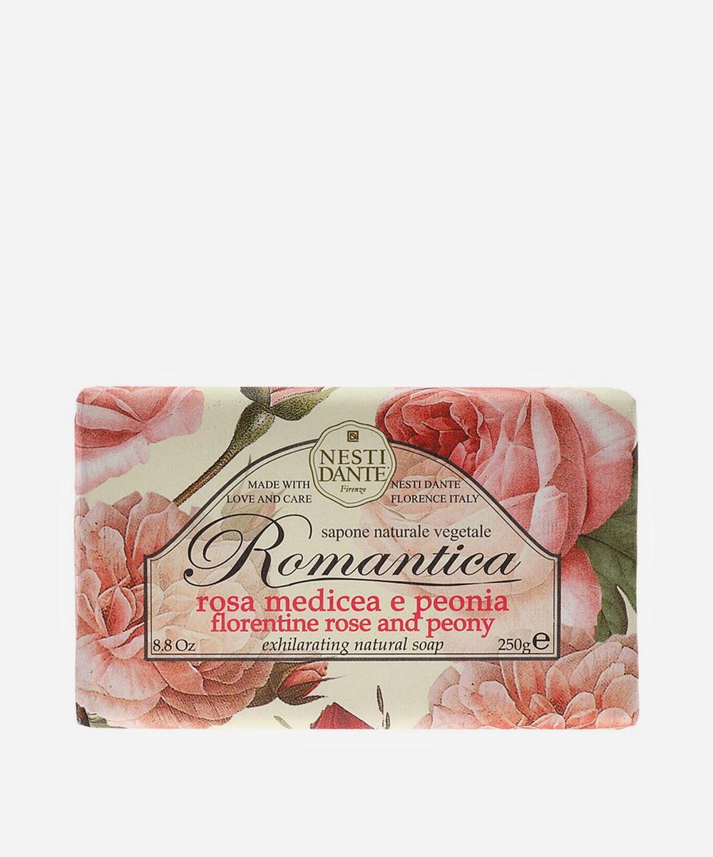 Romantica Florentine Rose And Peony Soap 250G