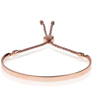 Rose Gold Vermeil Fiji Cord Friendship Bracelet